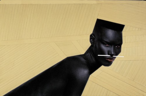 grace jones paris jean -paul exhibition