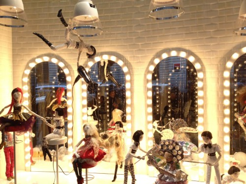 gallaries lafayette paris 2011 christmas december window