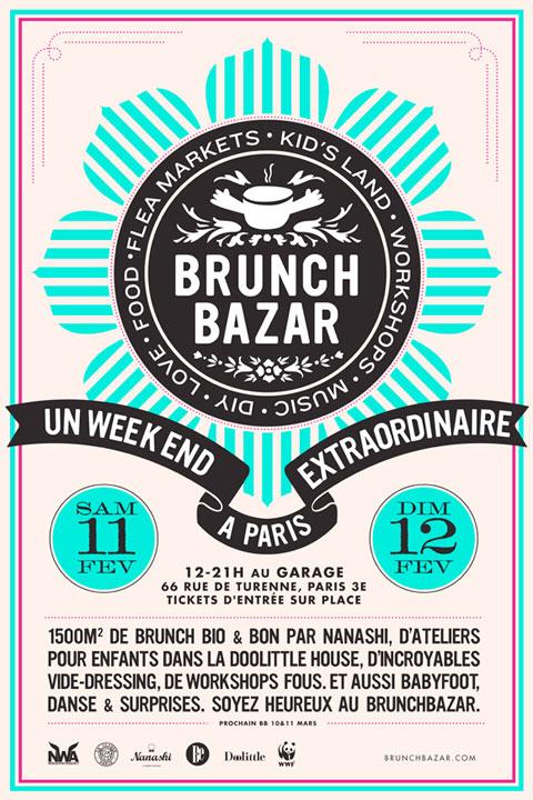 brunch bazar in paris