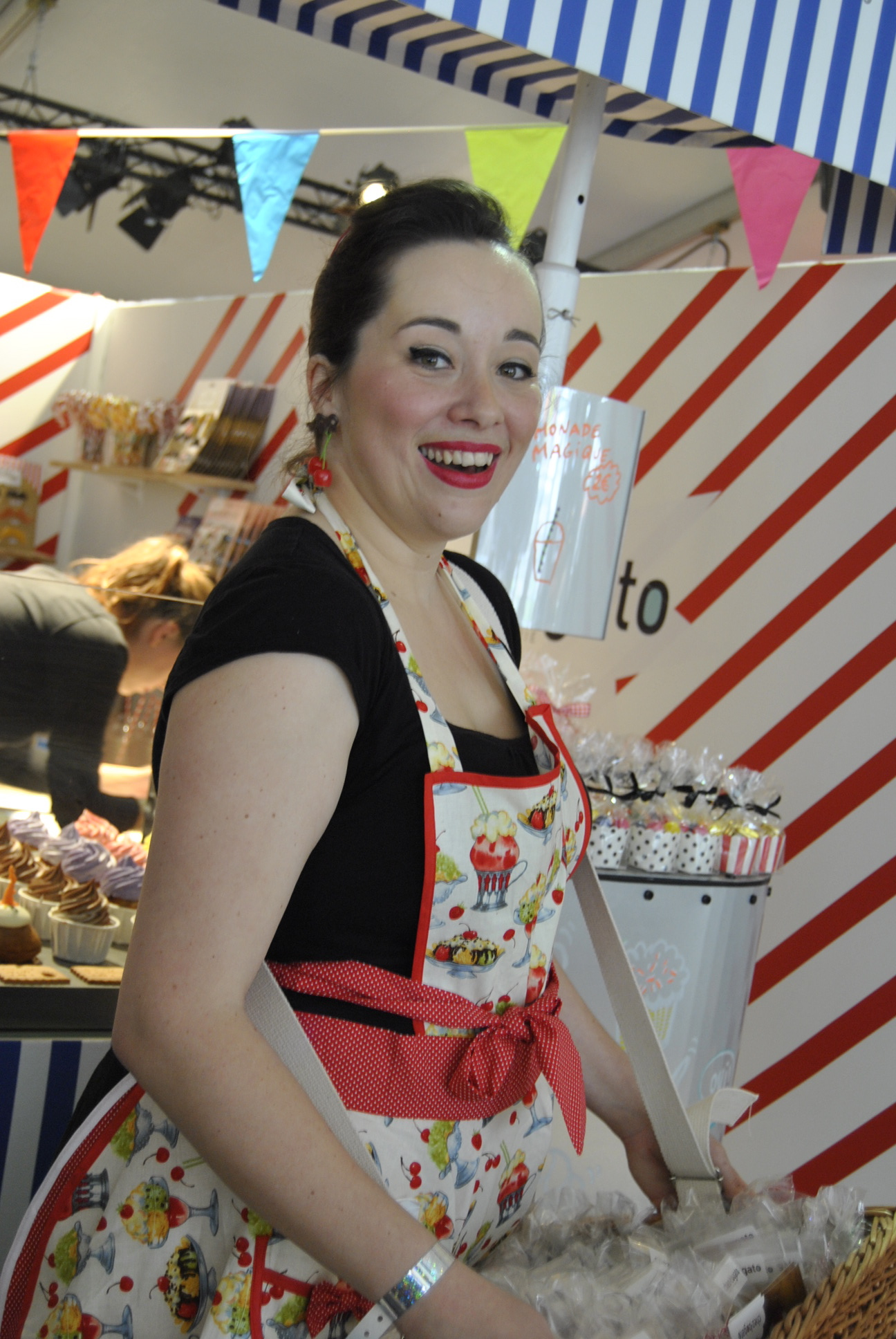 colette carnival waitress with apron paris