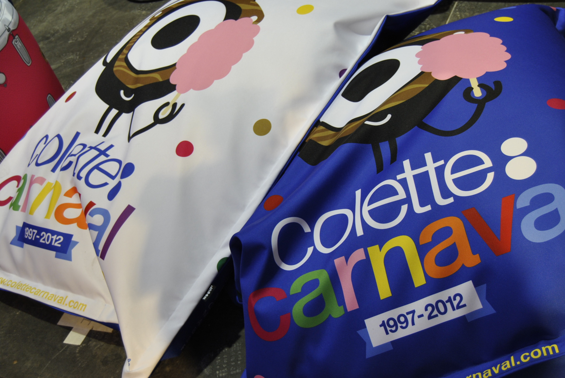 colette carnival cushions