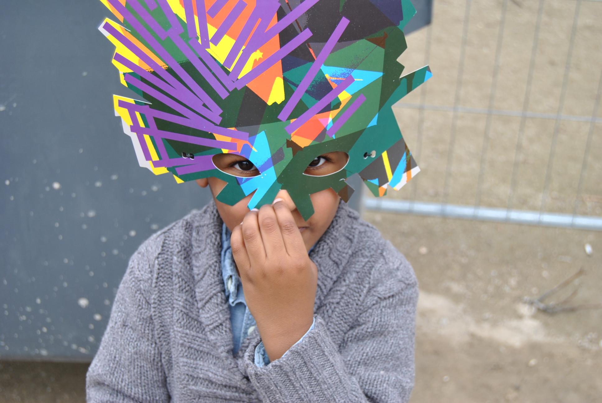 colette carnival melissa face mask