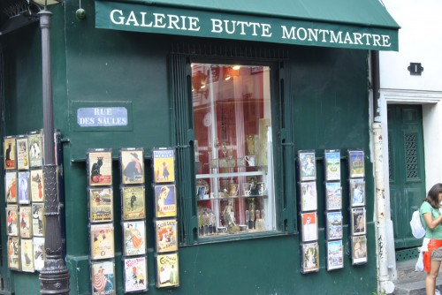 Posters + cards Galerie butte Montmartre