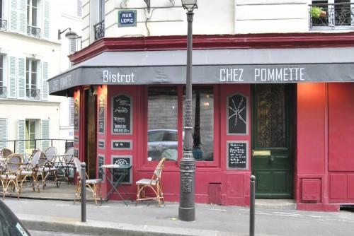 Resto Chez Pommette Paris 2012