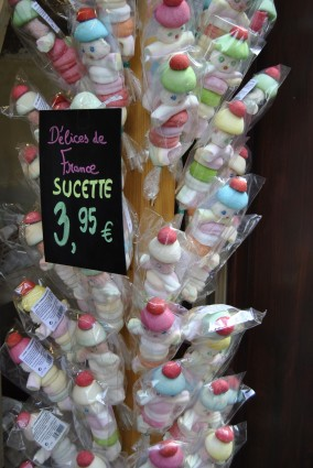Sucette candy paris france