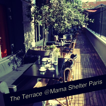 Mama Shelter Paris Terrace My parisian life
