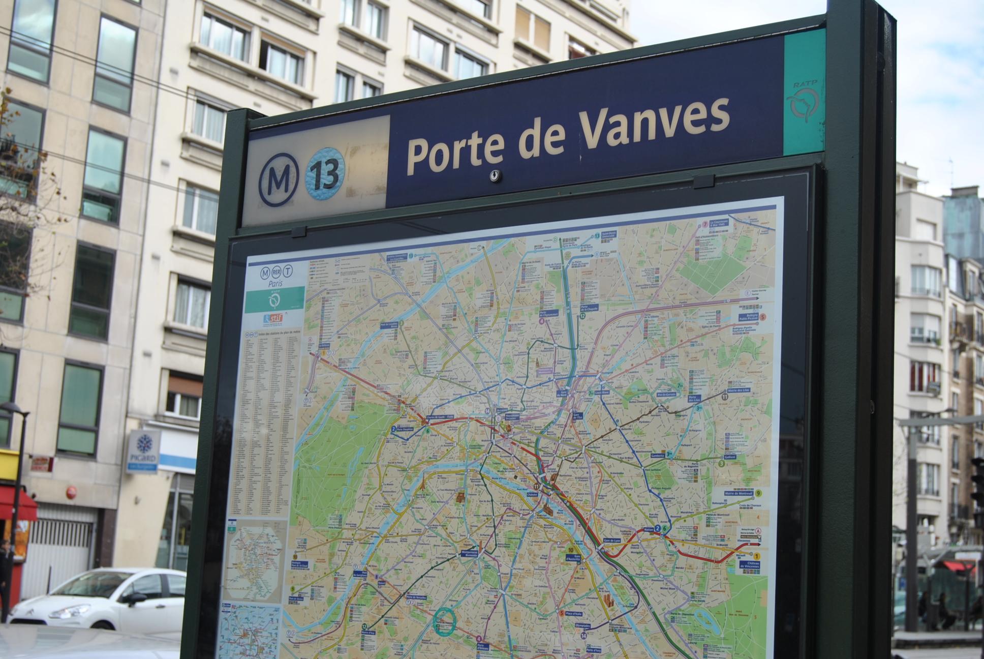 Porte de vanves metro my parisian lifemy parisian life - Conforama porte de vanves ...