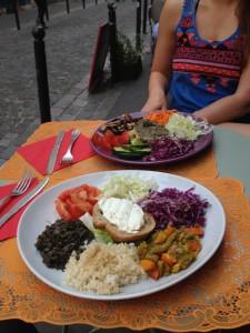 vegan meals in Paris