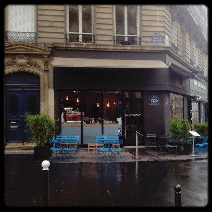 Photo of exterior of Paris coffee shop Kooka Boora in the 9th Arr.