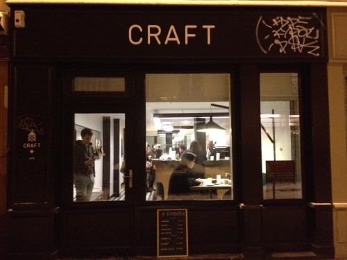 craft cafe canal