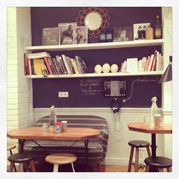 inside cafe pinson