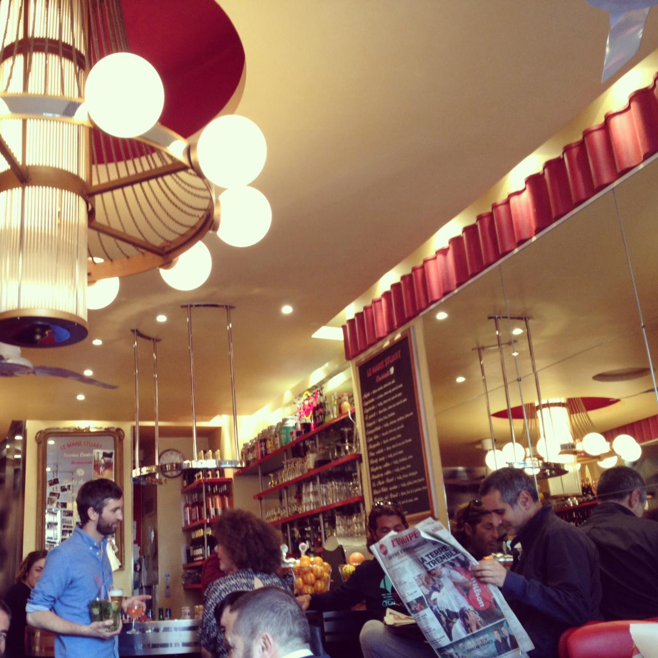 cafe marie stuart paris photo