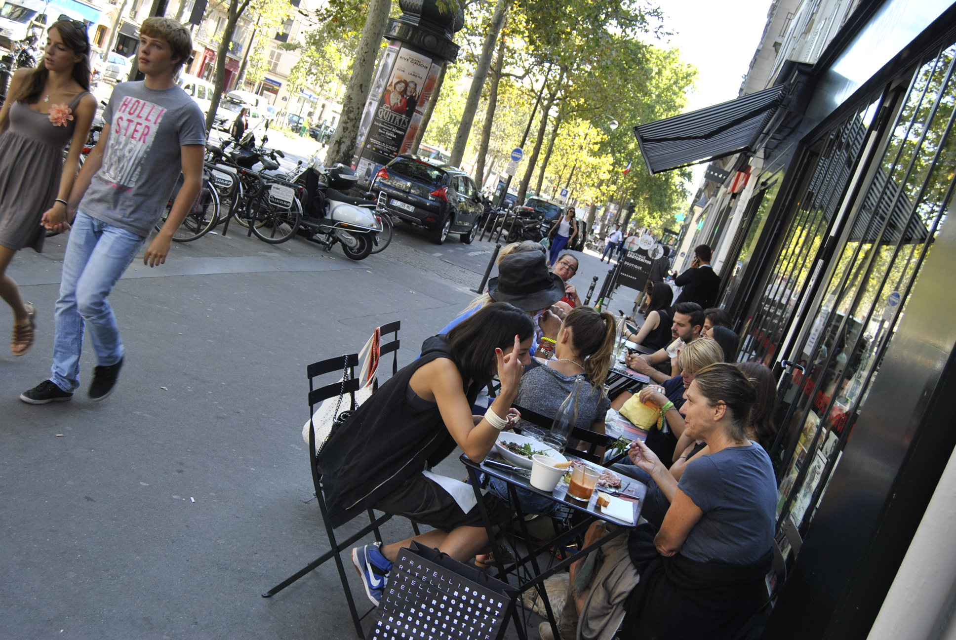 Merci paris photos cafe