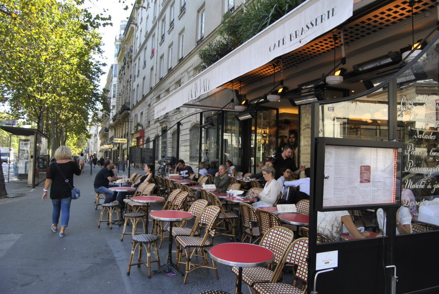 Terrace Cafe La Royale Paris