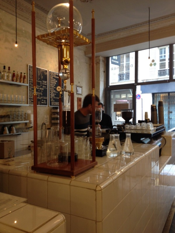 filtered coffee paris coutume
