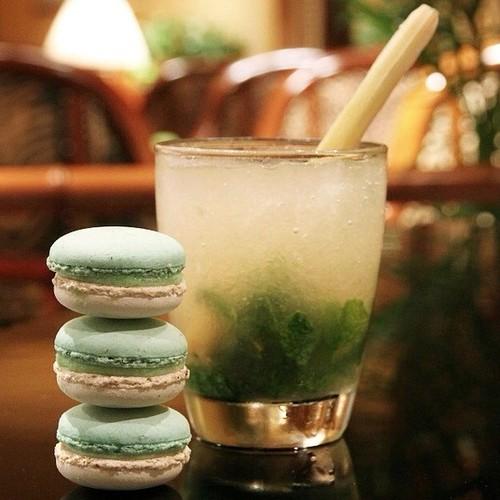 macaron drink paris
