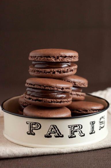 paris chocolate trade show macaron