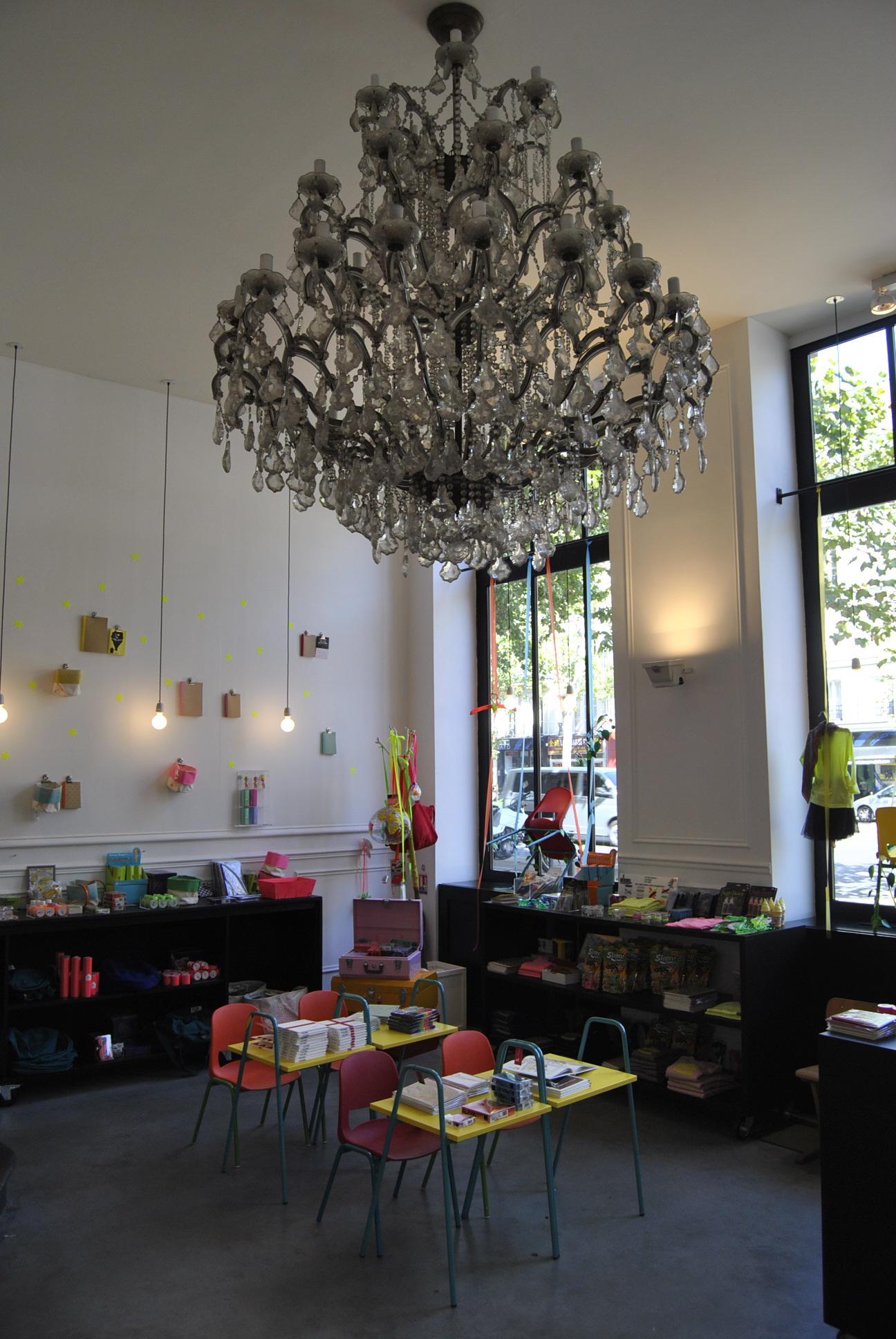 kids shops paris chandelier