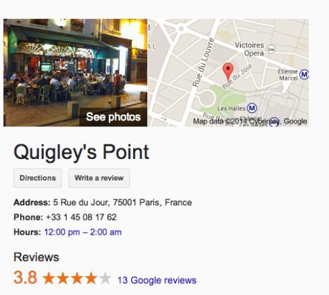 quigleys paris irish pub