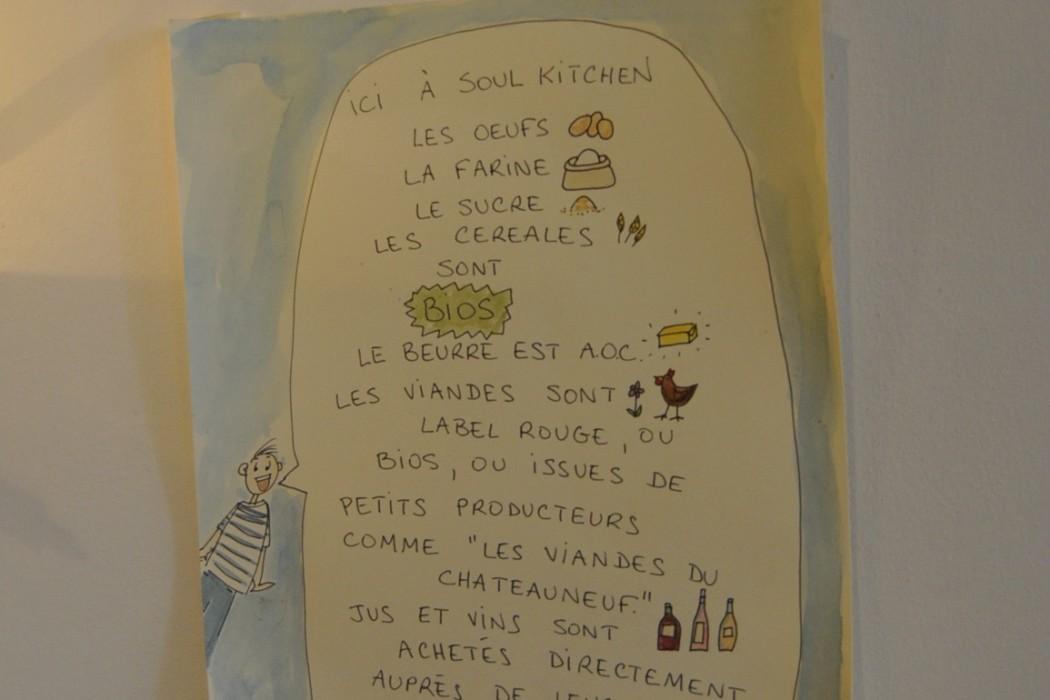 Soul Kitchen philosophy paris