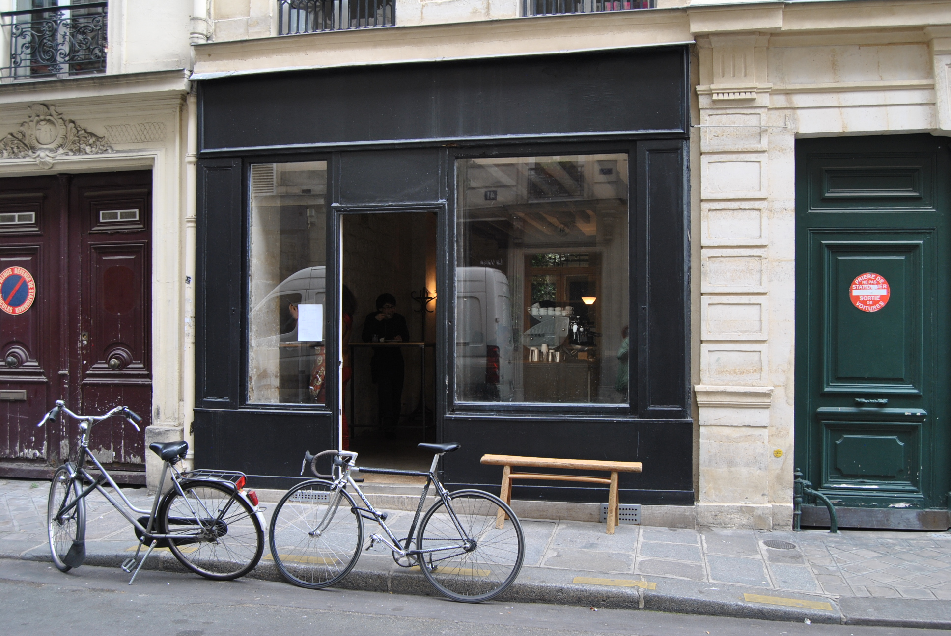 yosef paris fragments coffee shop ex black market