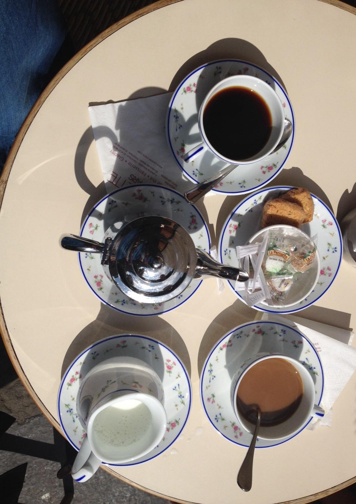 carette paris porcelain cups
