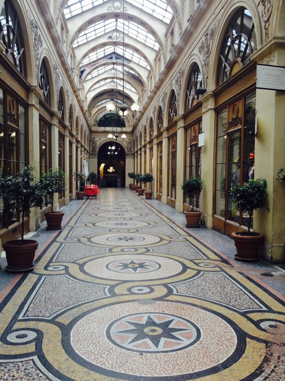 inside gallery vivienne Paris