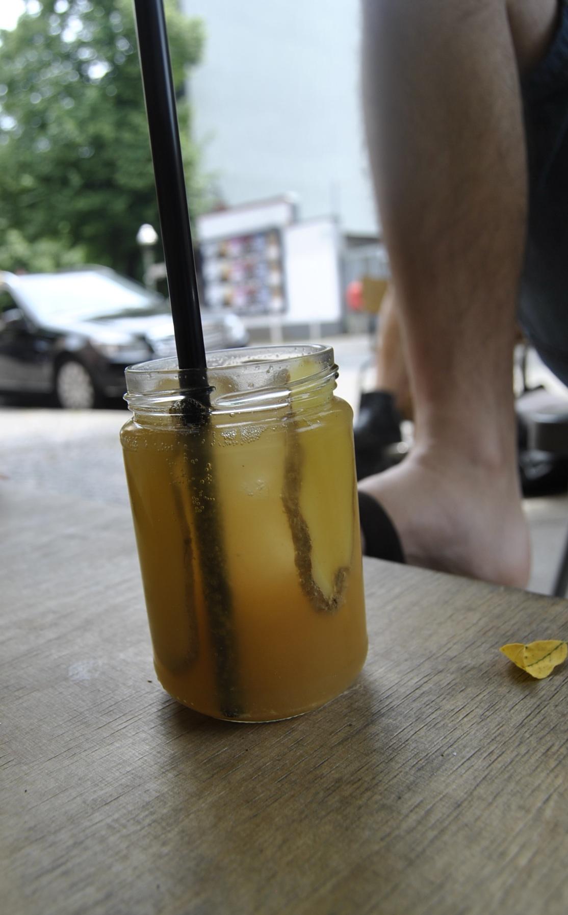 Homemade gingerbeer roamers berlin