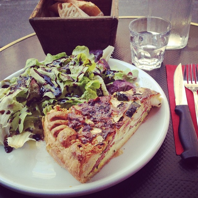 Quiche at Terra Corsa Paris review