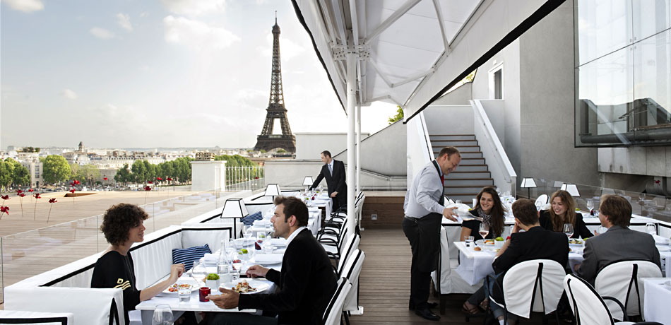 10 best rooftops in paris my parisian lifemy parisian life for La maison du cafe paris