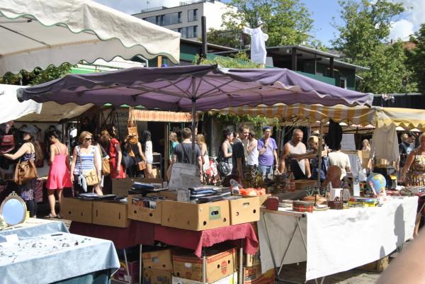 mauerpark berlin flea market VINTAGE Vinyl Records