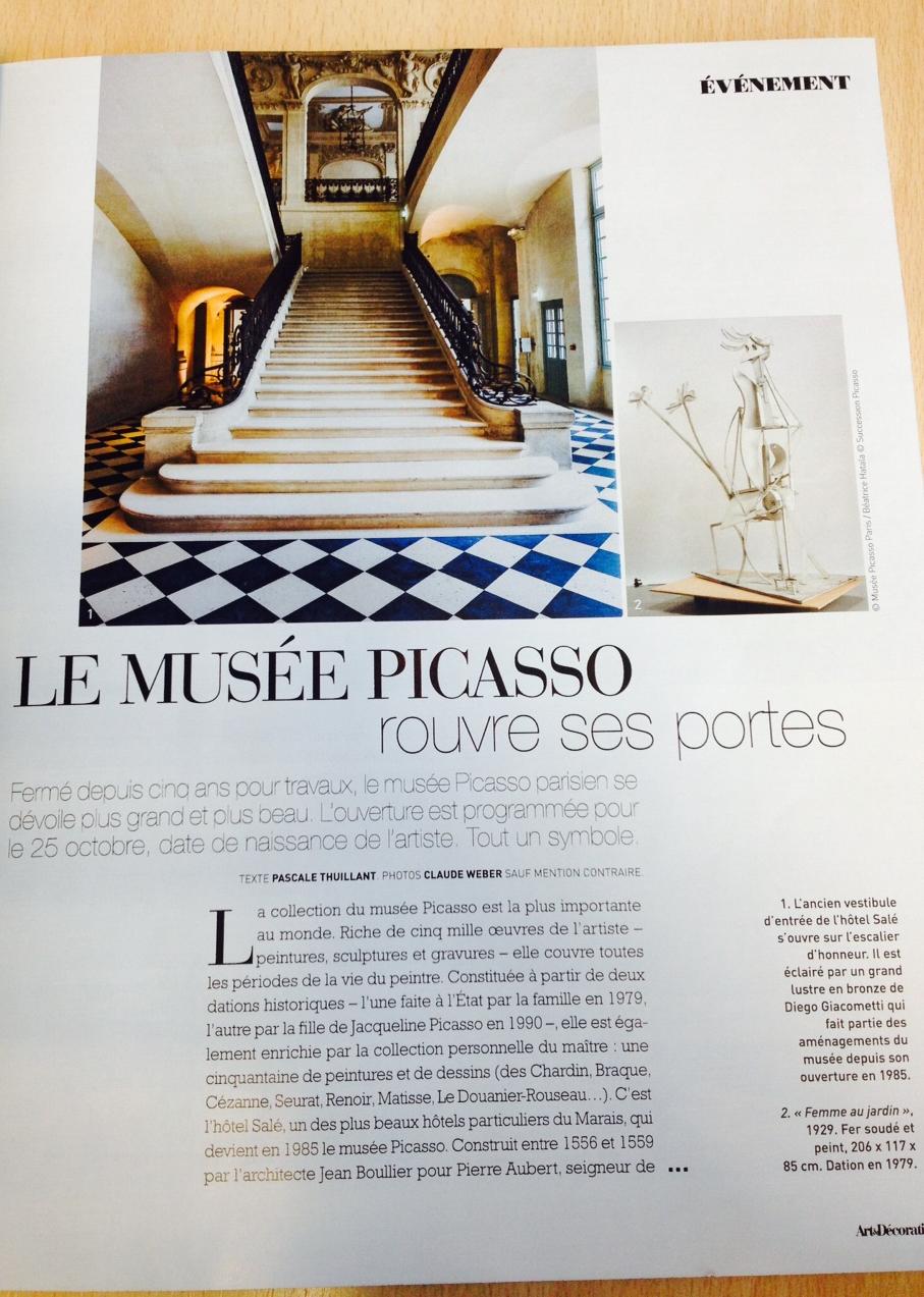 picasso museum paris reopens