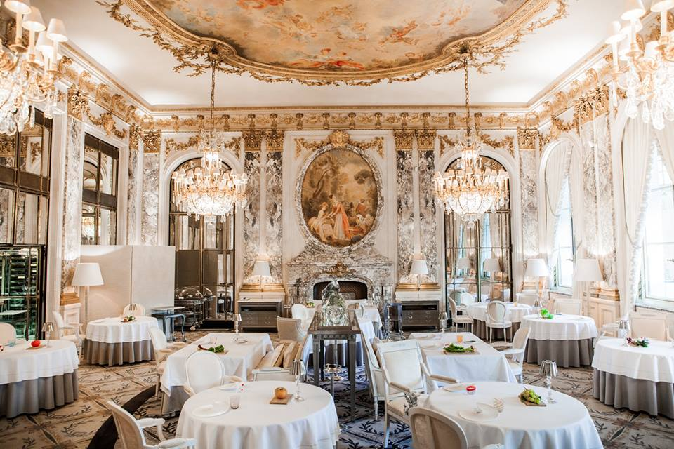 le meurice romantic dinner paris
