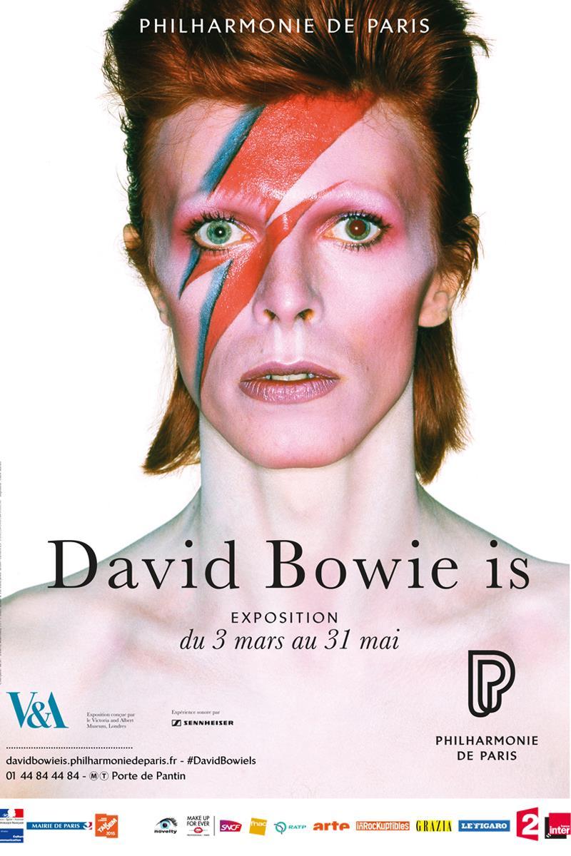 david bowie exhibition paris 2015 philharmonie