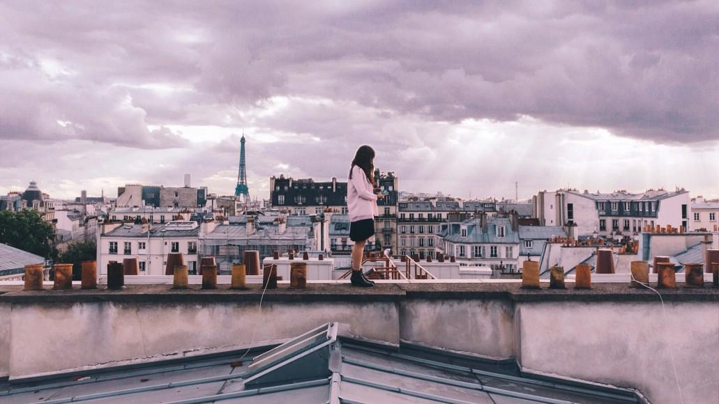 Yasmin Sundays in paris by Alistair Wheeler