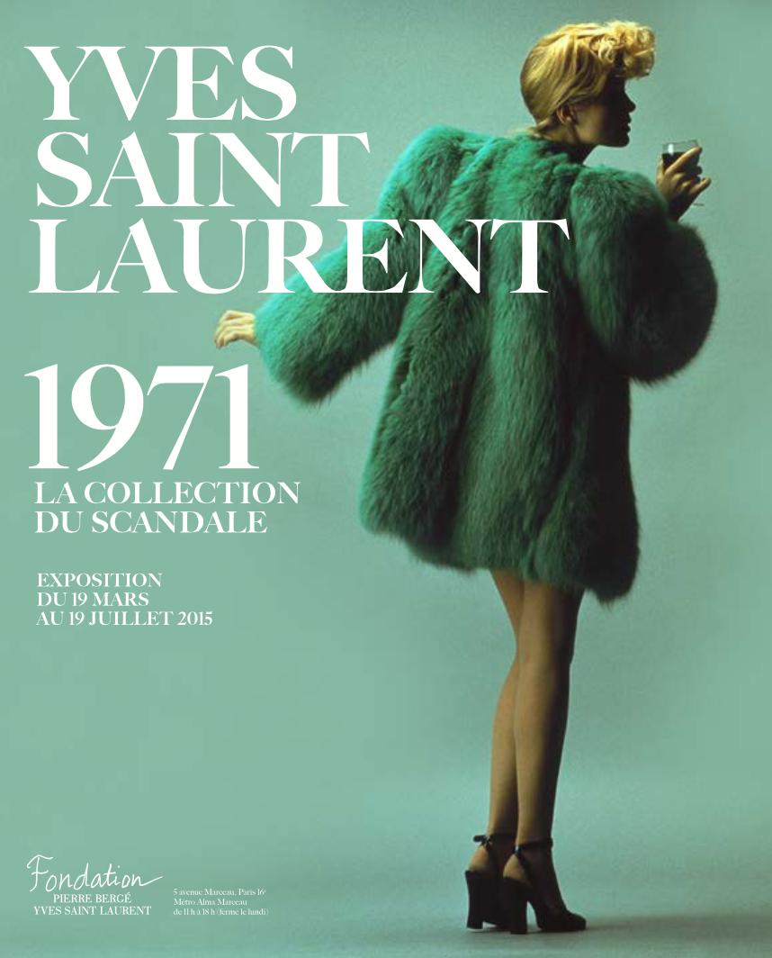 yves saint laurent 2015 exhibition museum paris