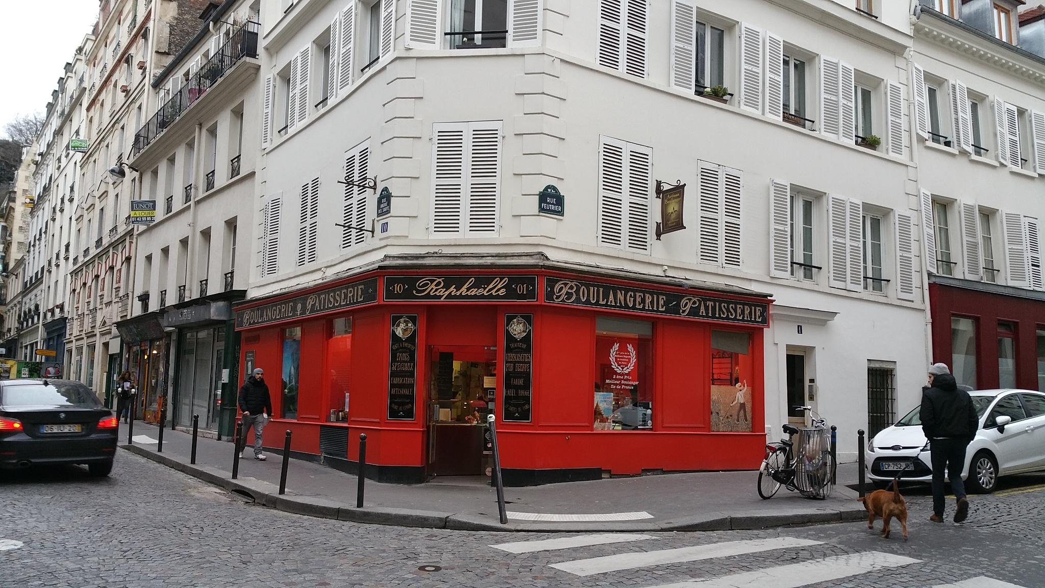 Best bakery paris montmartre
