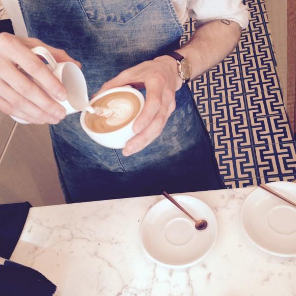 parisian barista latte art