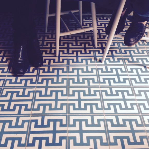 tiles coffee shop paris obladi