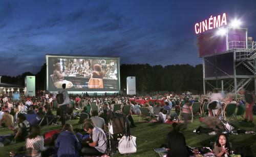 outdoor cinema to do paris 2015