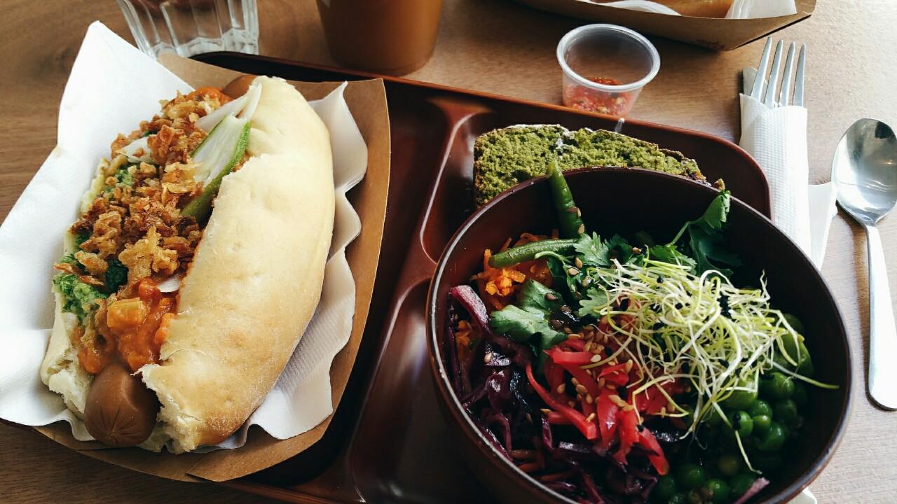 Lunch In Paris Le Tricycle Ital Vegetarian Food