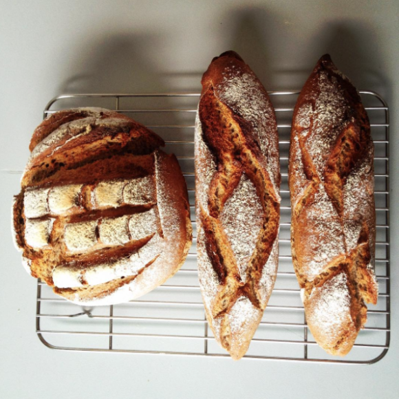 french home made bread