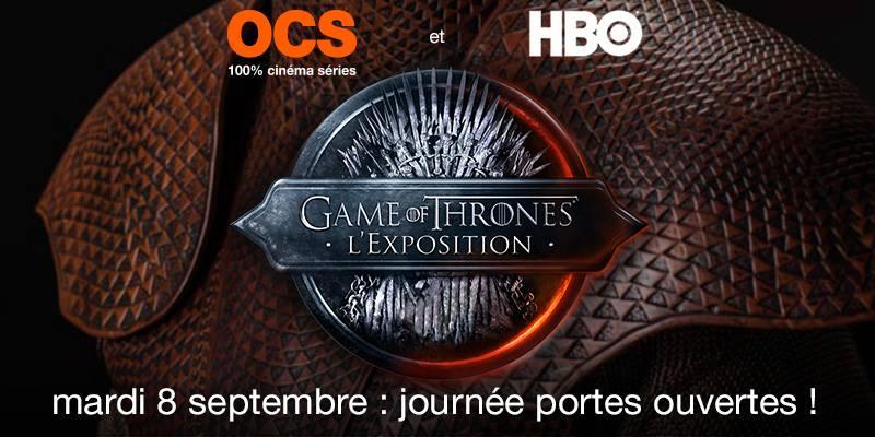 game of thrones paris 2015 exhibition
