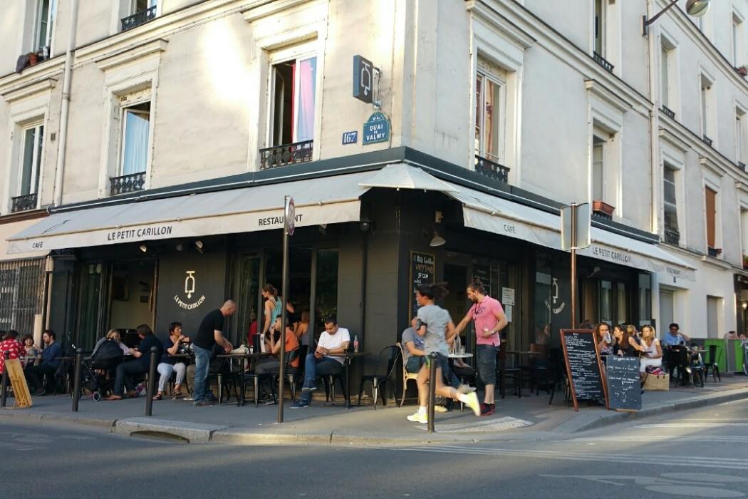 Paris where to eat quai valmy le petit carillon my for Le petit salon paris