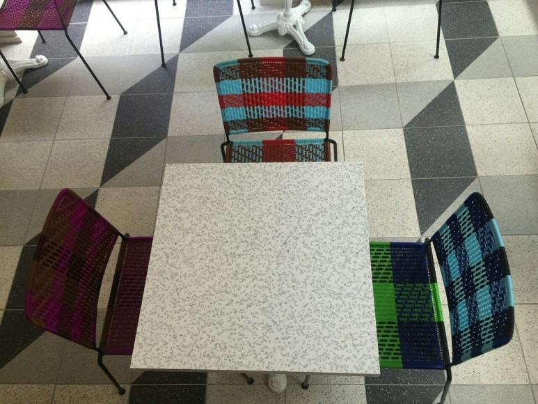 tables style paris