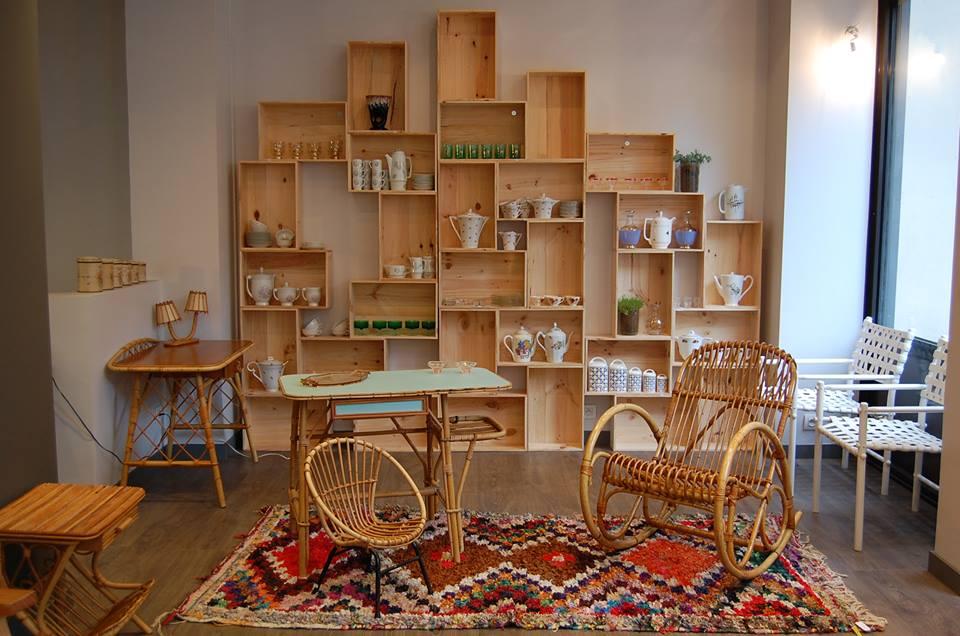 dallas normandie vintage furniture shopping paris