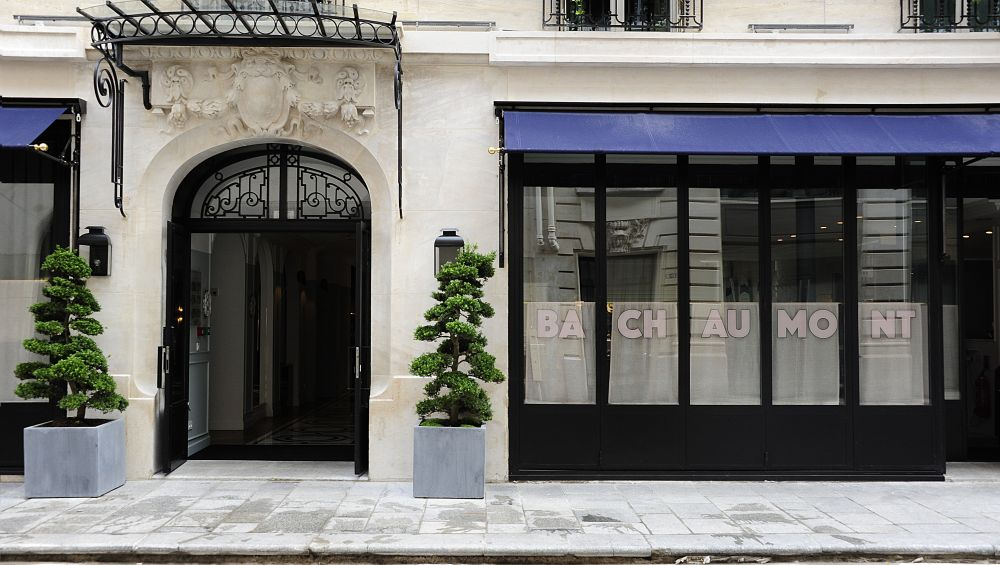 hotel bachaumont paris luxury romantic sentier