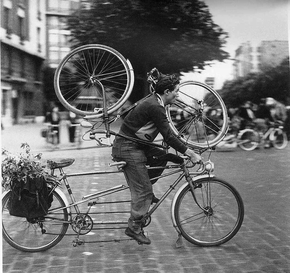 bike robert-doisneau