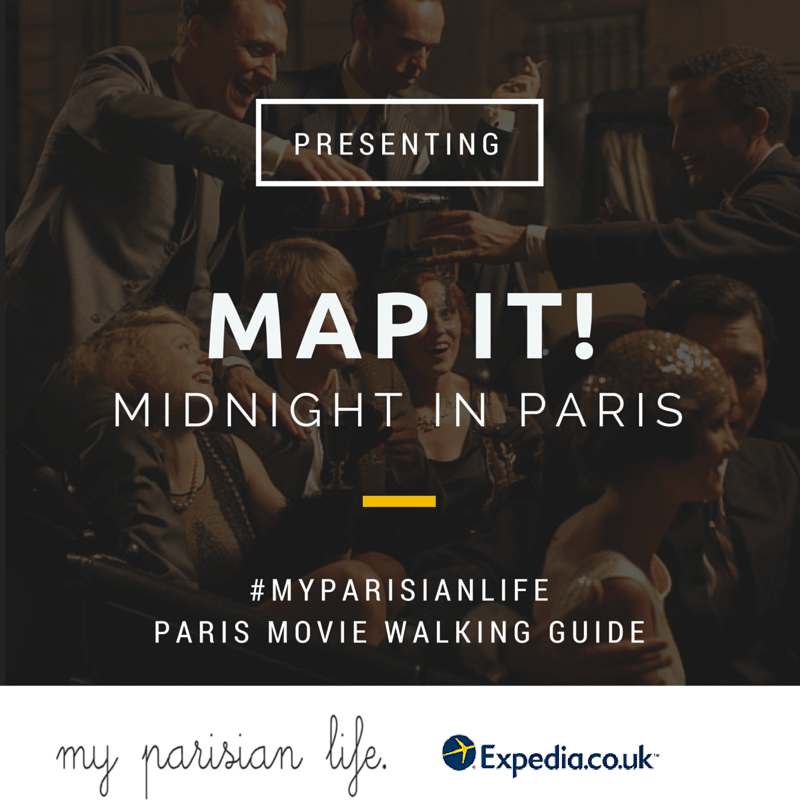 Midnight in Paris MOvie walk paris city guide blog
