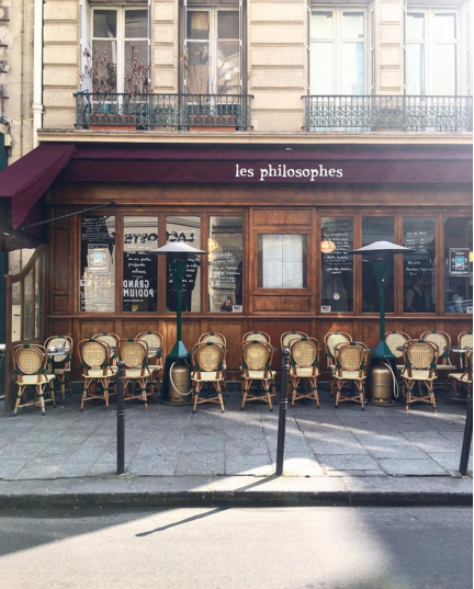les philosphes marais paris duck confit
